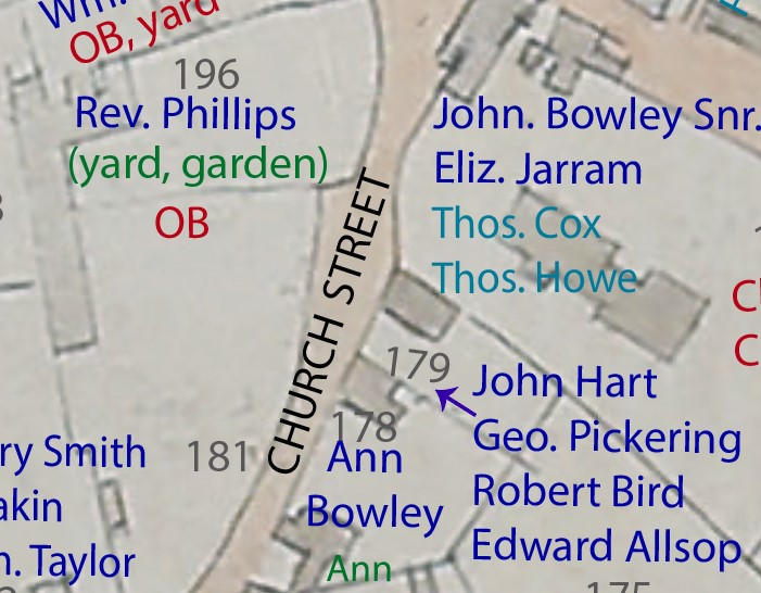 church cottage map 124