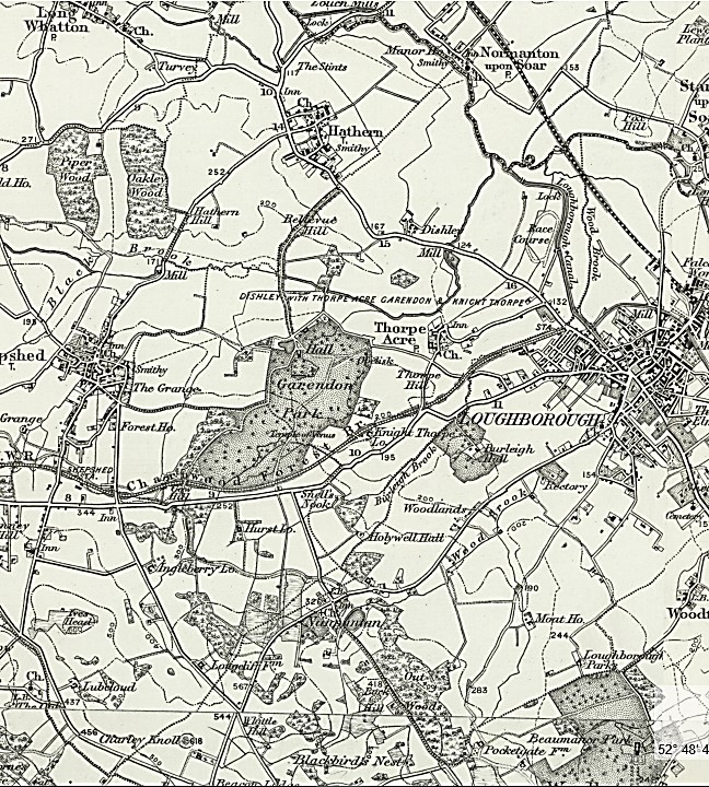 1895 1900 map inc garendon