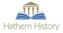 Hathern History Logo